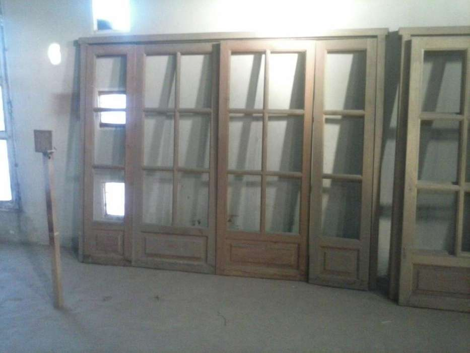 Aberturas varias madera maciza