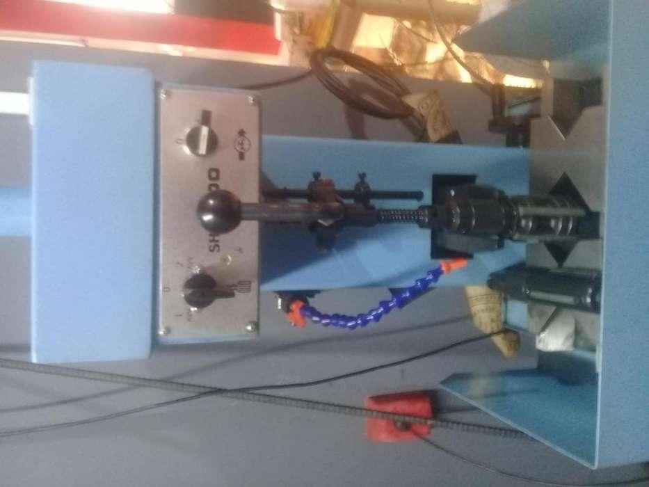 Rectificadora y pulidora para cilindros