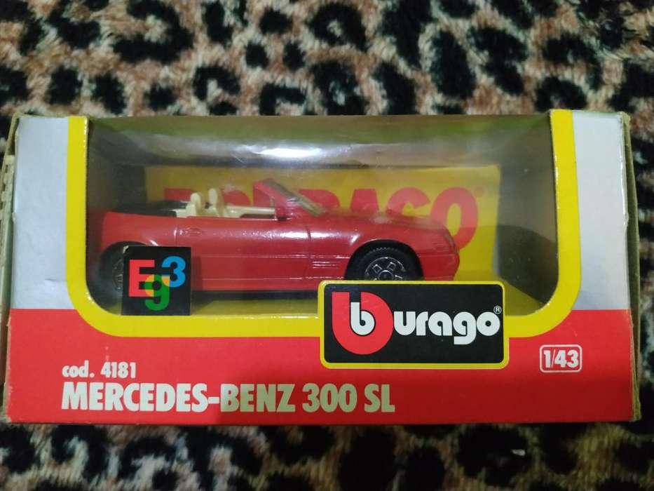 VENDO AUTO DE JUGUETE MERCEDES BENZ 300SL 500 2235960732