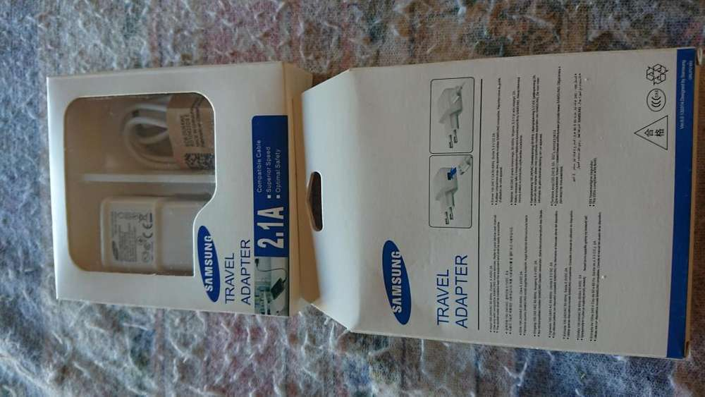 Cargador y cable usb v8 Samsung 2.1 A nuevos