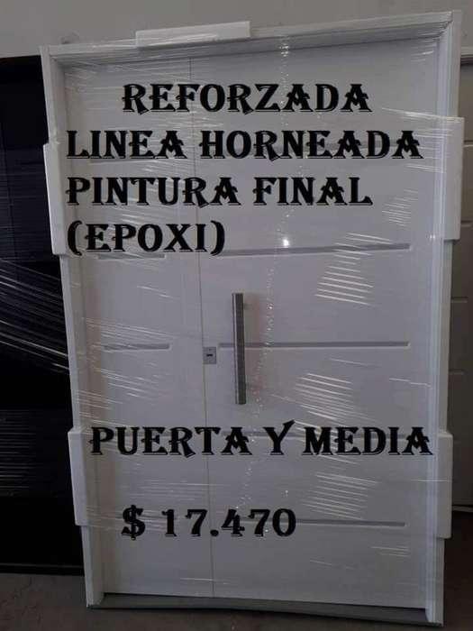 Puerta Y Media Inyectado