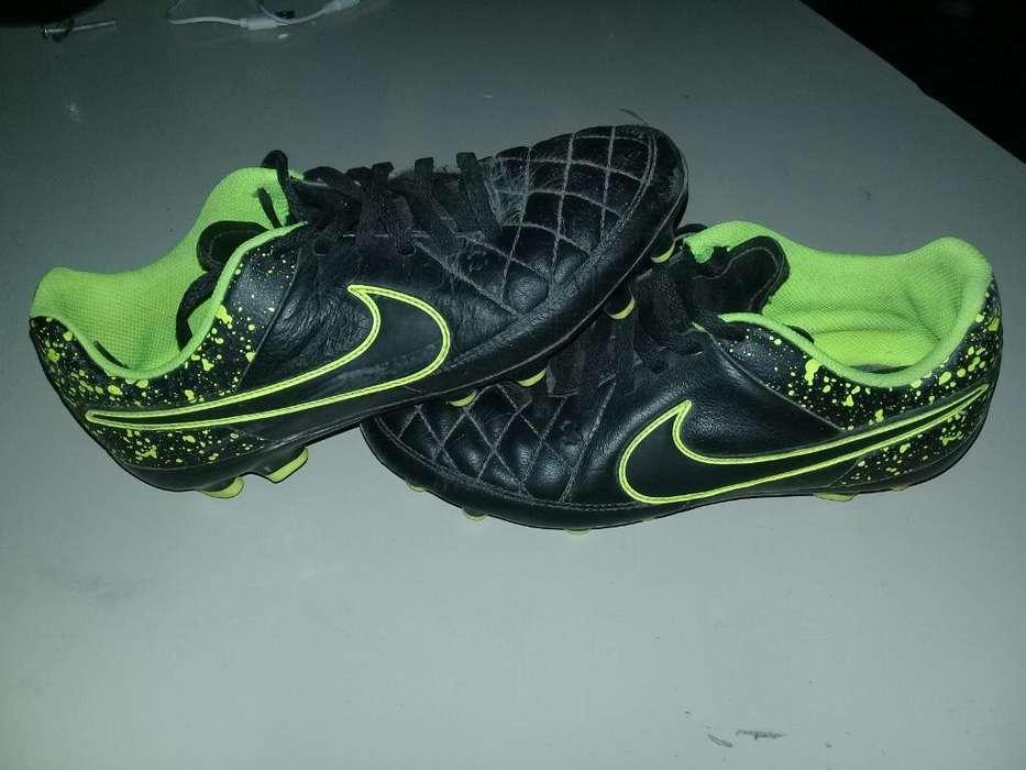Botines Nike de Once Nro36 Originales