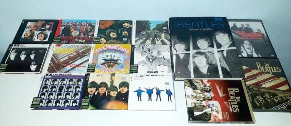 Colección The beatles Cds, dvd y libro