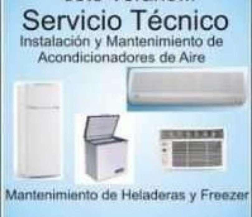 Servicio Tecnico en reparación de Split, Heladeras, Freezer y Electricidad