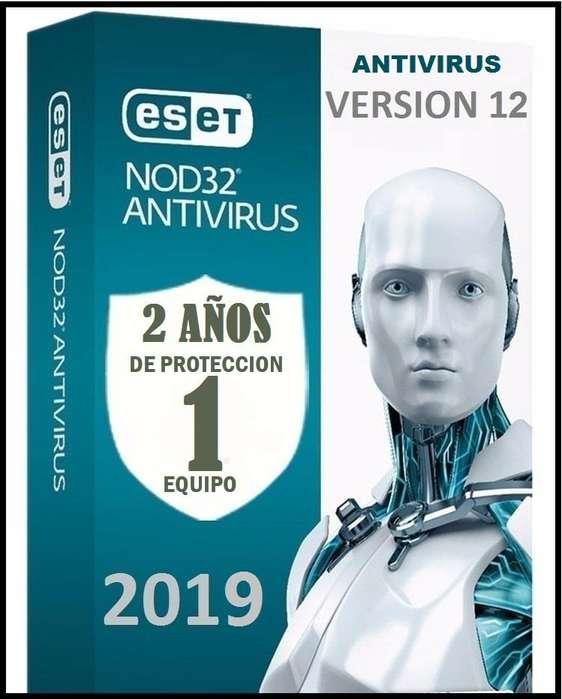Eset Nod32 Antivirus Licencia original 1pc x 2 Años