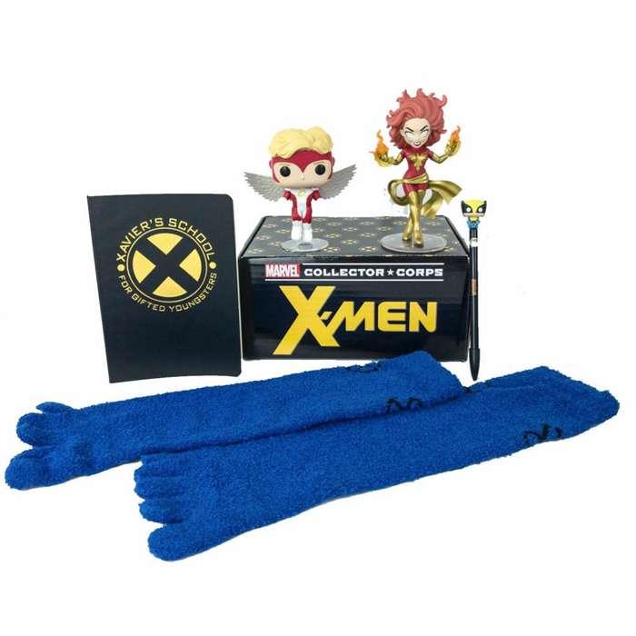 Funko Marvel Collector Corps Box Classic X-Men Enero 2019