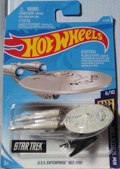 Hot Wheels Star Trek USS Enterprise NCC1701