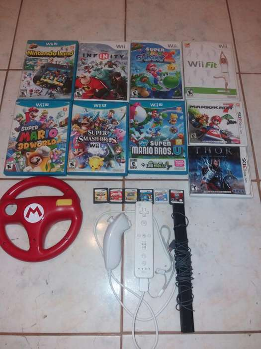 Juegos Nintendo Wii Wii U 3ds