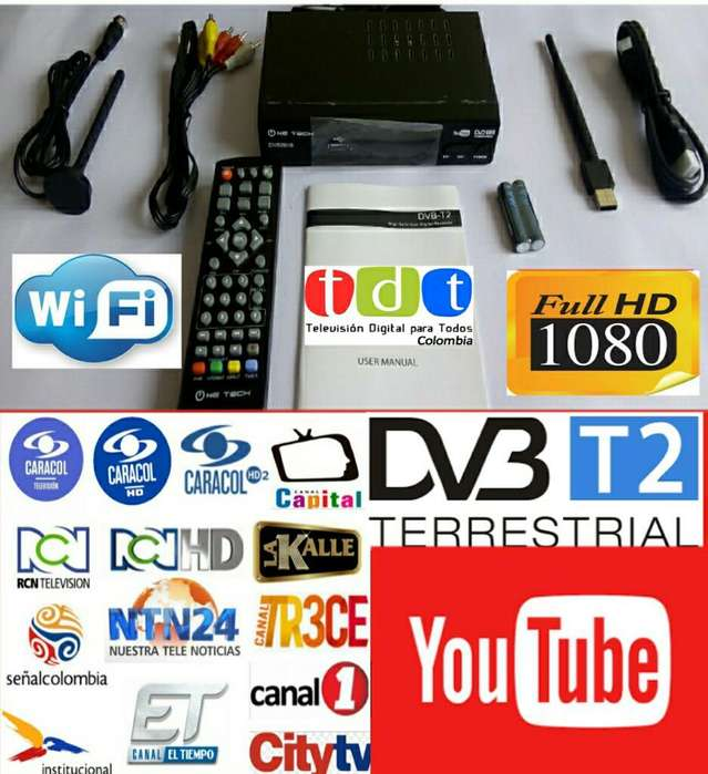 Decodificador Tdt T2hd