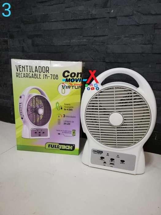 <strong>ventilador</strong> Recargable Full Tech