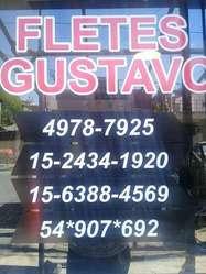 FLETES GUSTAVO AL INSTANTE!!!