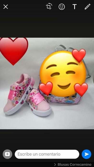 Vendo Zapatos Lol Talla 24-26