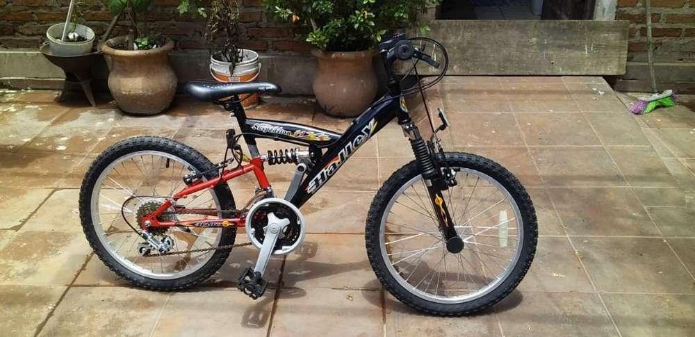 Bicicletas Halley R20 Perfecto Estado!!!