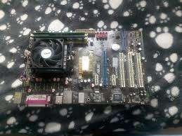 EXCELENTE COMBO BOARD MEMORIA PROCESADOR SONIDO 5.1 USB ADM