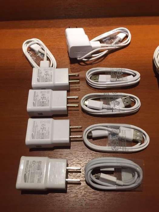 Cargadores con Cables ,Originales , Nuevos para celulares , Samsung , Motorola , Xiaomi