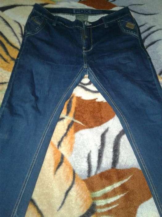 Jean's Fox Skinny