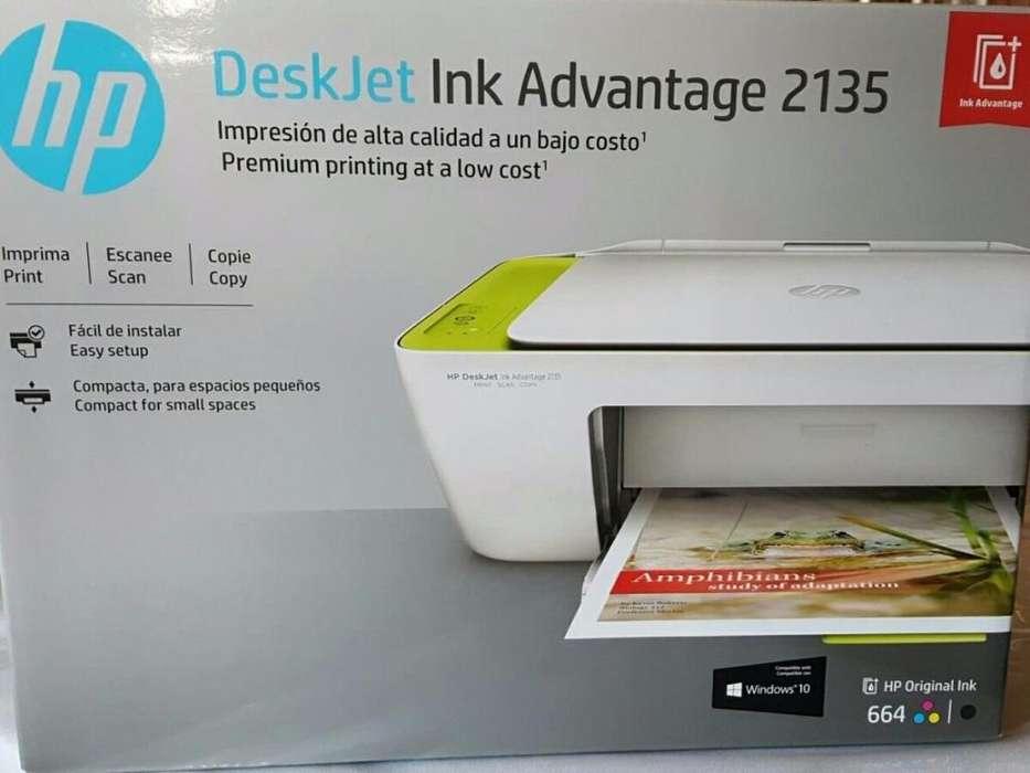 IMPRESORA HP MULTIFUNCIONAL INK ADVANTAGE 2135