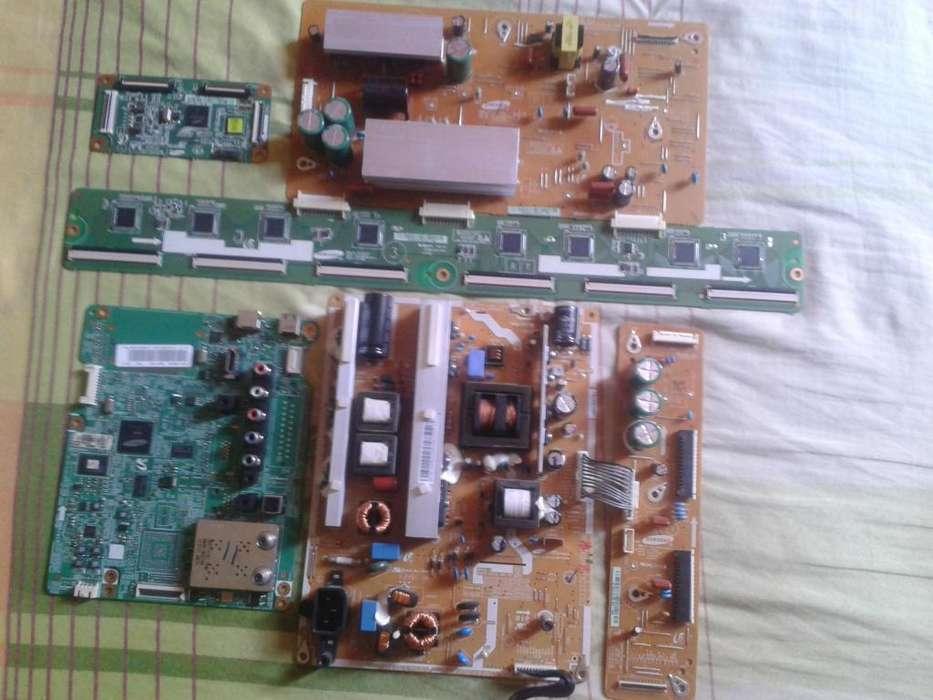 Vendo las tarjetas del plasma Samsung Mod: PL43E450A1M