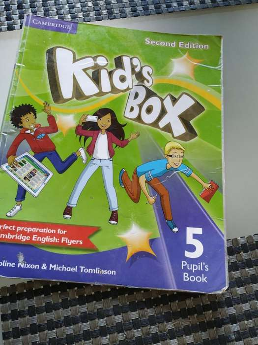 Libro de Inglés Kids Box 5