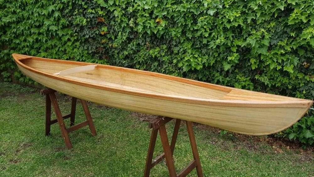 Canoa De Madera Modelo Rob Roy