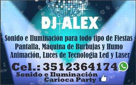 sonido e iluminacion Deejay