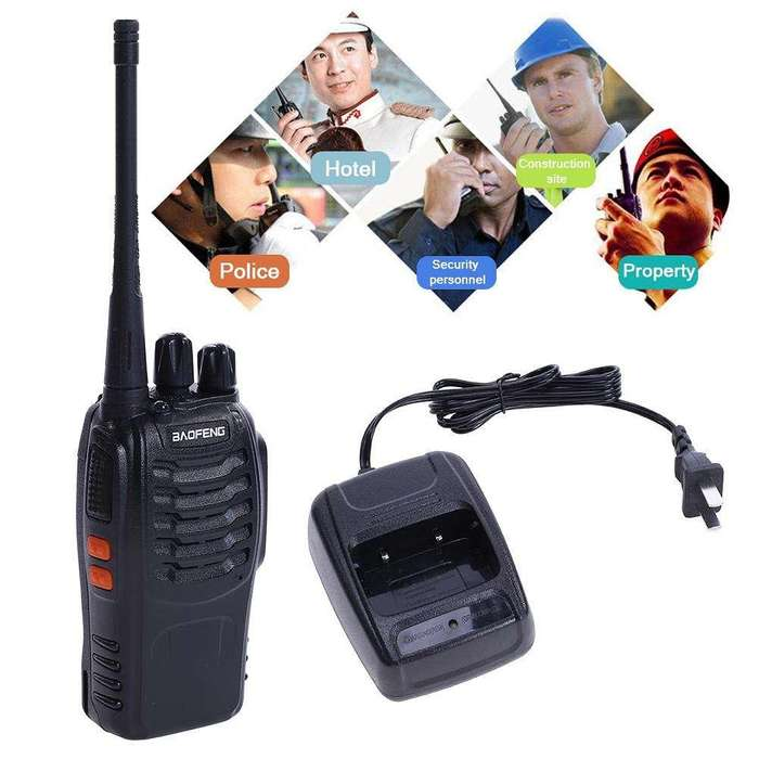RADIO HANDIE UHF GARANTIA 3 MESES BAOFENG BF 888 S ENVIOS A TODO EL PAIS