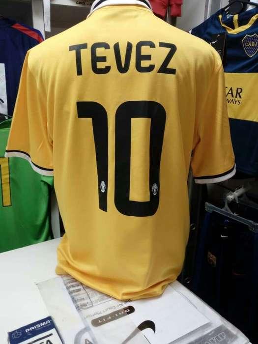 Juve Amarilla Tévez 10 Xl