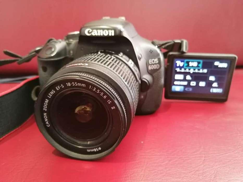 Canon Eos 600d Digital Srl Cámara