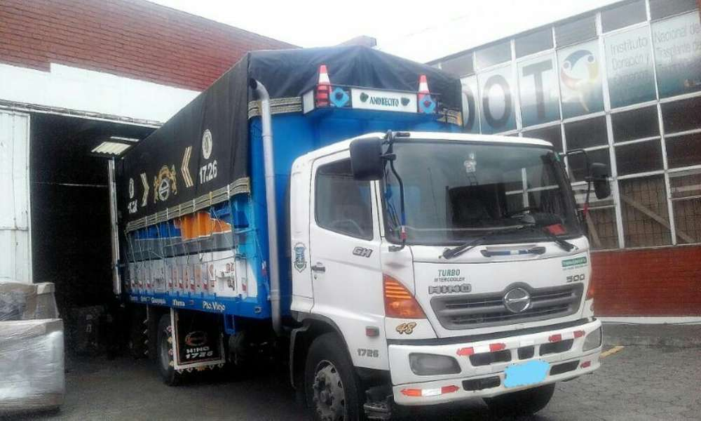 Vendo Camion Hino Gh 2010