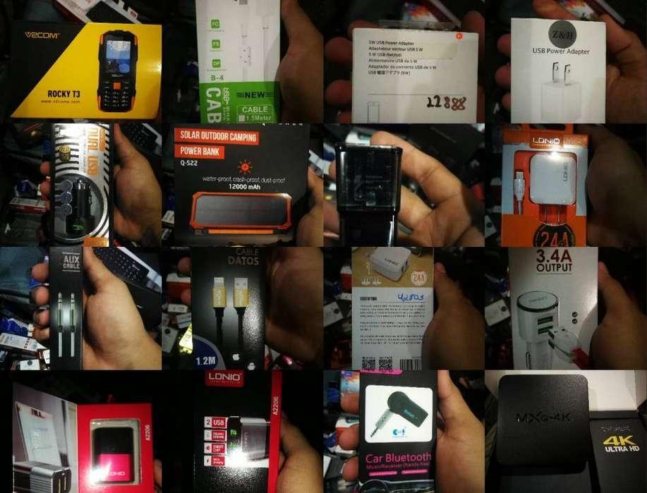 Cargadores Samsung Huawei iPhone