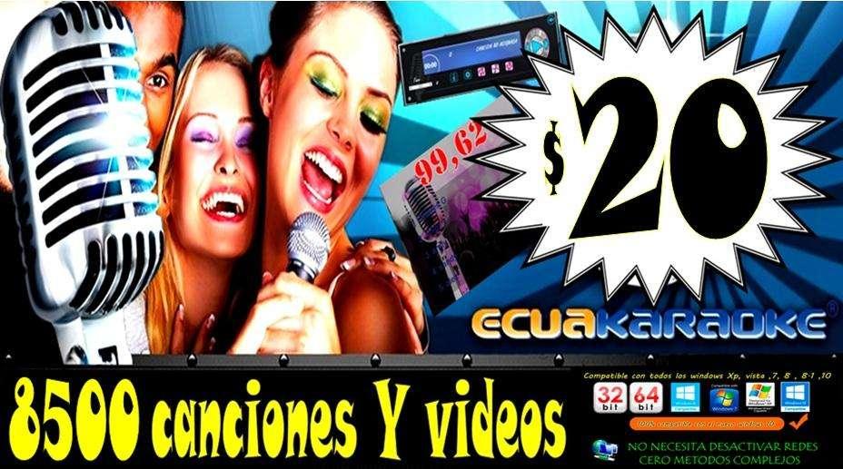 ULTRA SONIDO 8500 CANCIONES Y VIDEOS 4K
