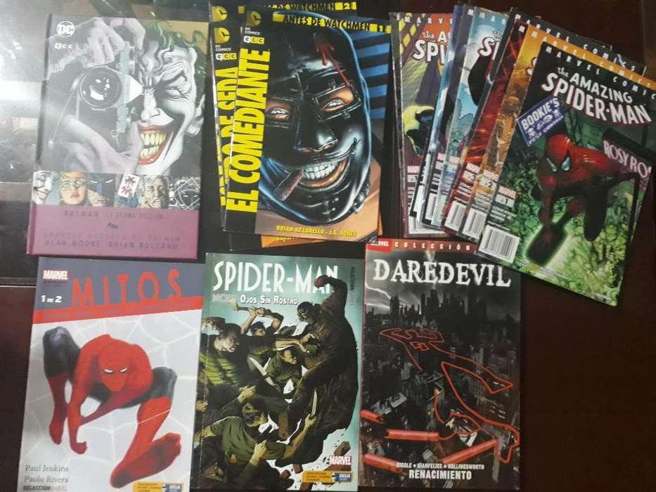 Comics Spiderman, Batman Etc