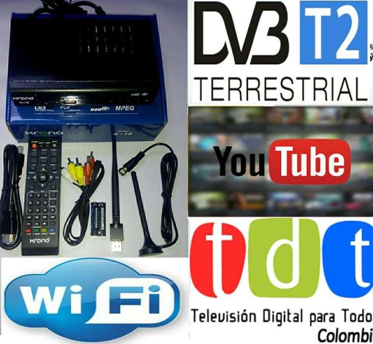 Decodificador Tdt T2 Hd Full Imagen