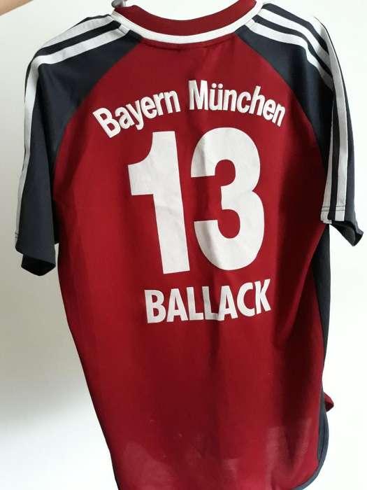 Camiseta Bayern Munchen Michael Ballack