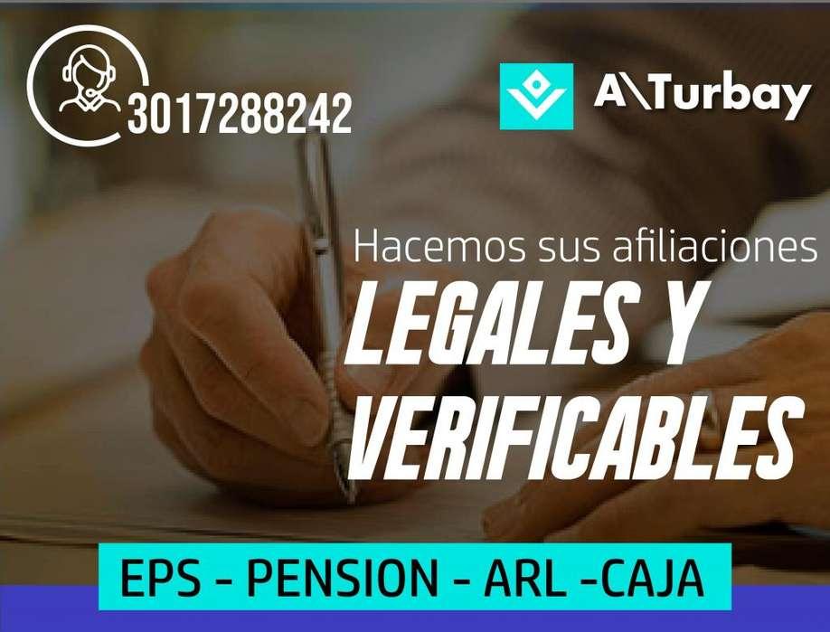 ASESORIA Y AFILIACION 3017288242 EPS ARL CAJA COMPENSACION Y PENSION SOMOS EXPERTOS EN SEGURIDAD SOCIAL