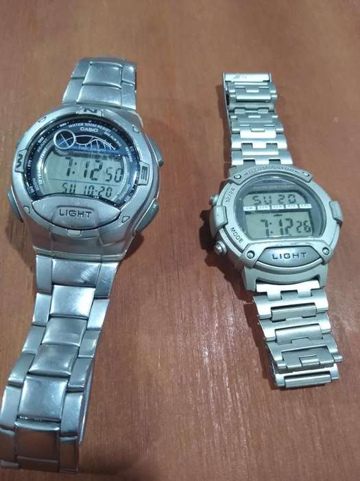 Vendo Mis Dos Relojes Casio