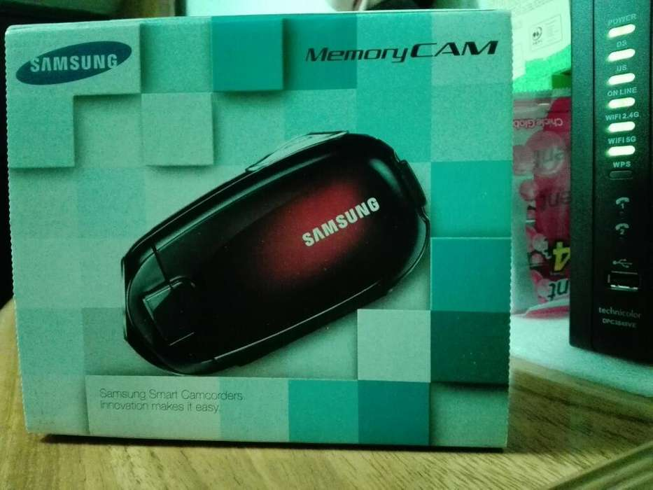 Videocámara Samsung