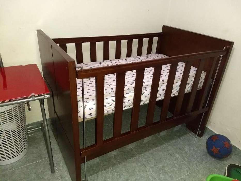 Cuna en madera para bebe Anti reflujo