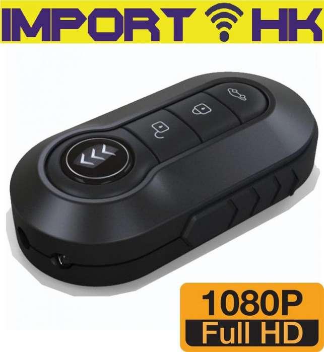 Camara Espia Llavero Auto Fhd Vision Nocturna 12mp Micro Sd