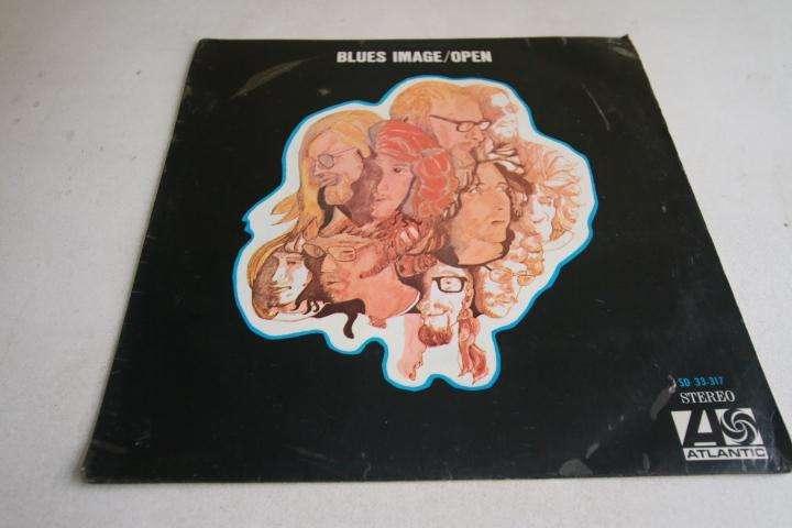 the blues image open LP vinilo edición perú rock hago envíos