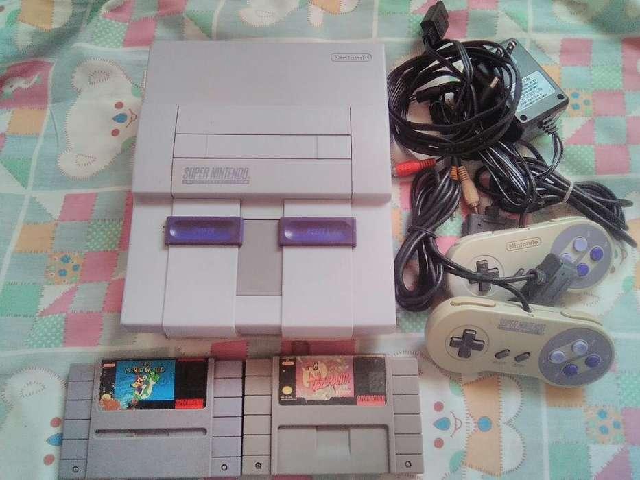 Super Nintendo en Perfecto Estado
