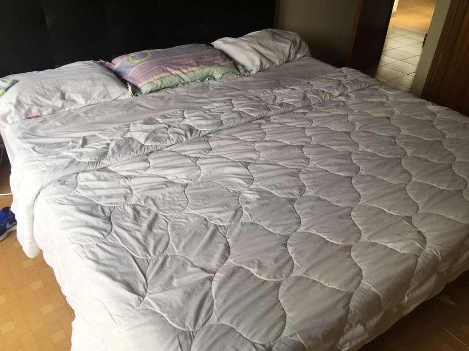 Cama Colchon Pullman King Size 2x2 Semiortopédica. 1 Año Uso