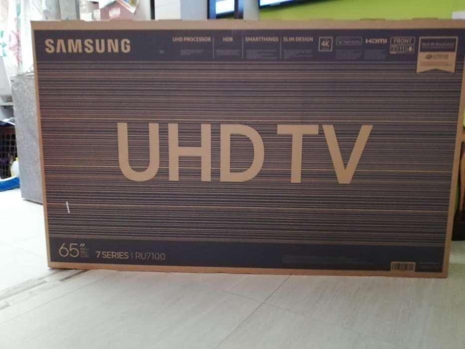 4k Uhd Smart 65 Samsung Nuevo Barato