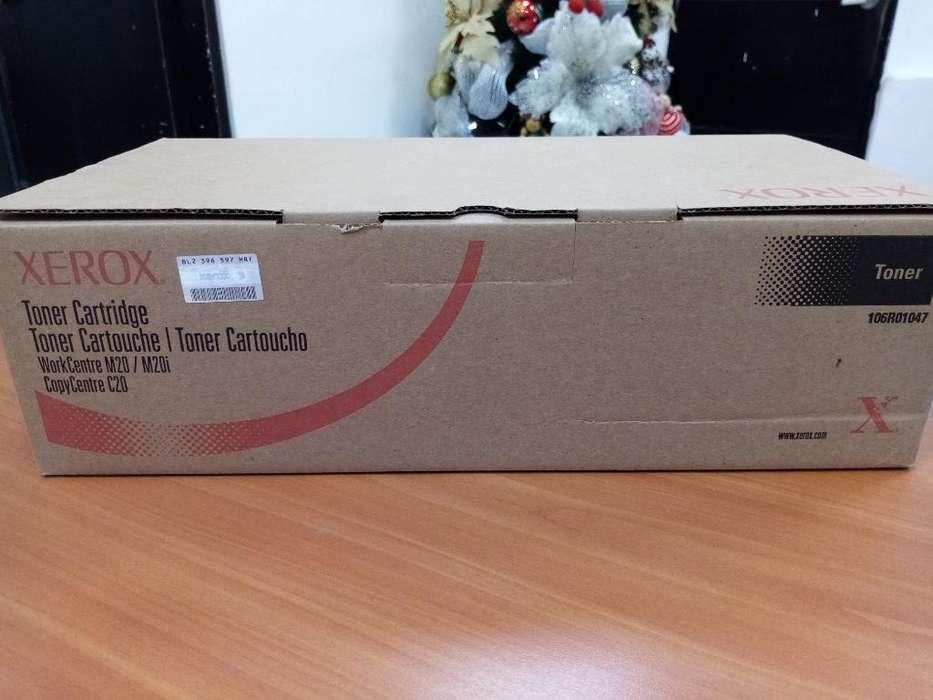 Toner Xerox 106r01047 Bk