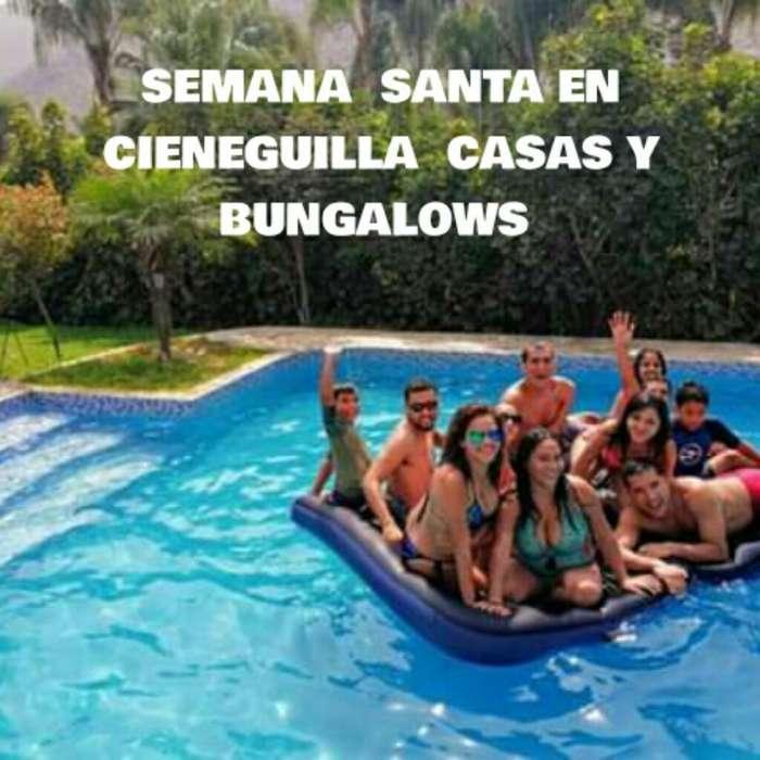Casas Y Bungalows Cieneguilla Peru