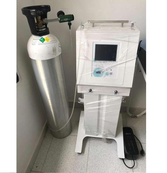 Equipo de Ozono Medicor con Bala de Oxígeno