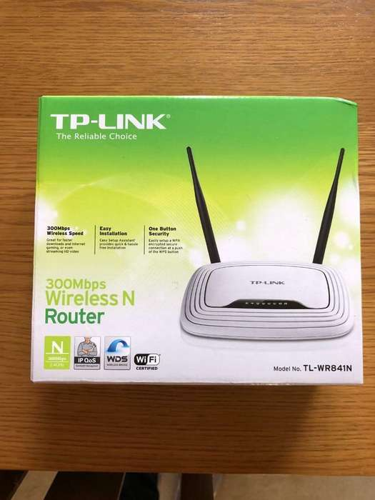 Router Tp-link Tl-wr841n 300mbps Wireless