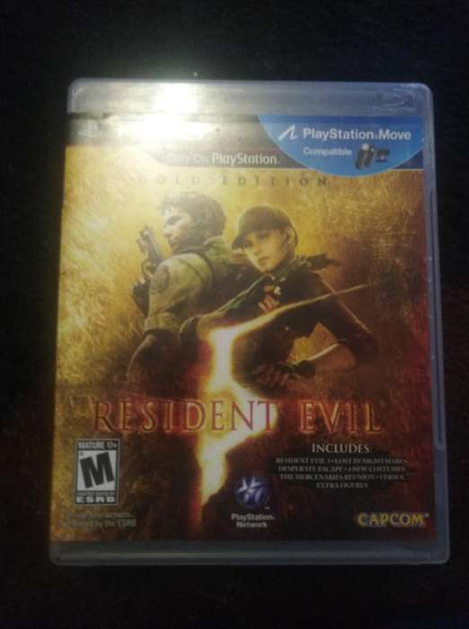 Video Juego Resident Evil 5