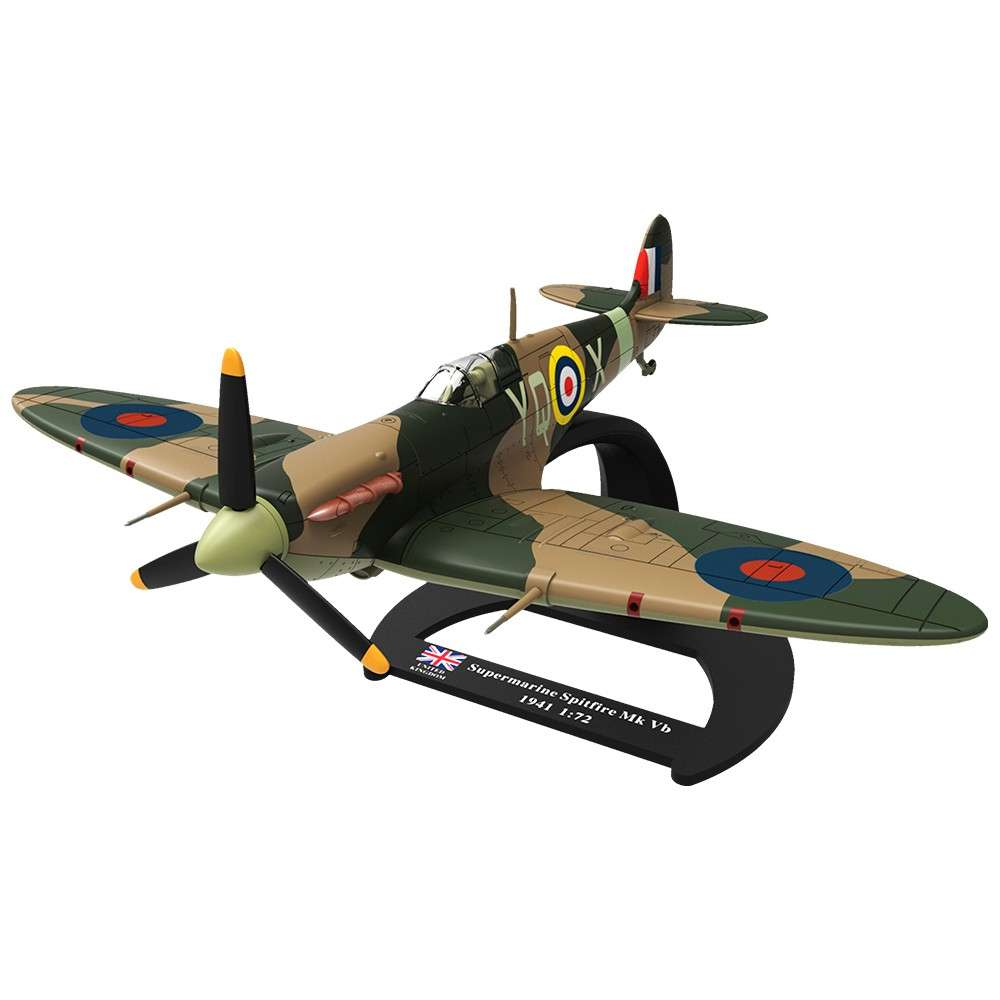 Avión Supermarine Spitfire MK VB. Escala 1/72
