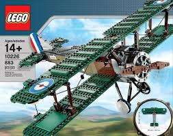 LEGO Creator 10226 Avion Primera guerra Mundial